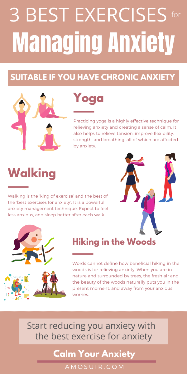 best exercises for anxiety INFOGRAPHIC 2.0