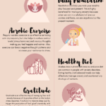 self-care for anxiety infographic