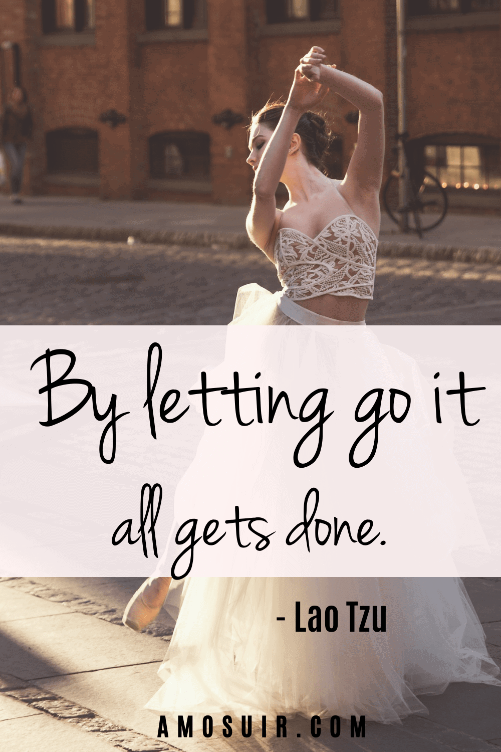 anxiety motivational quotes - by letting go it all gets done