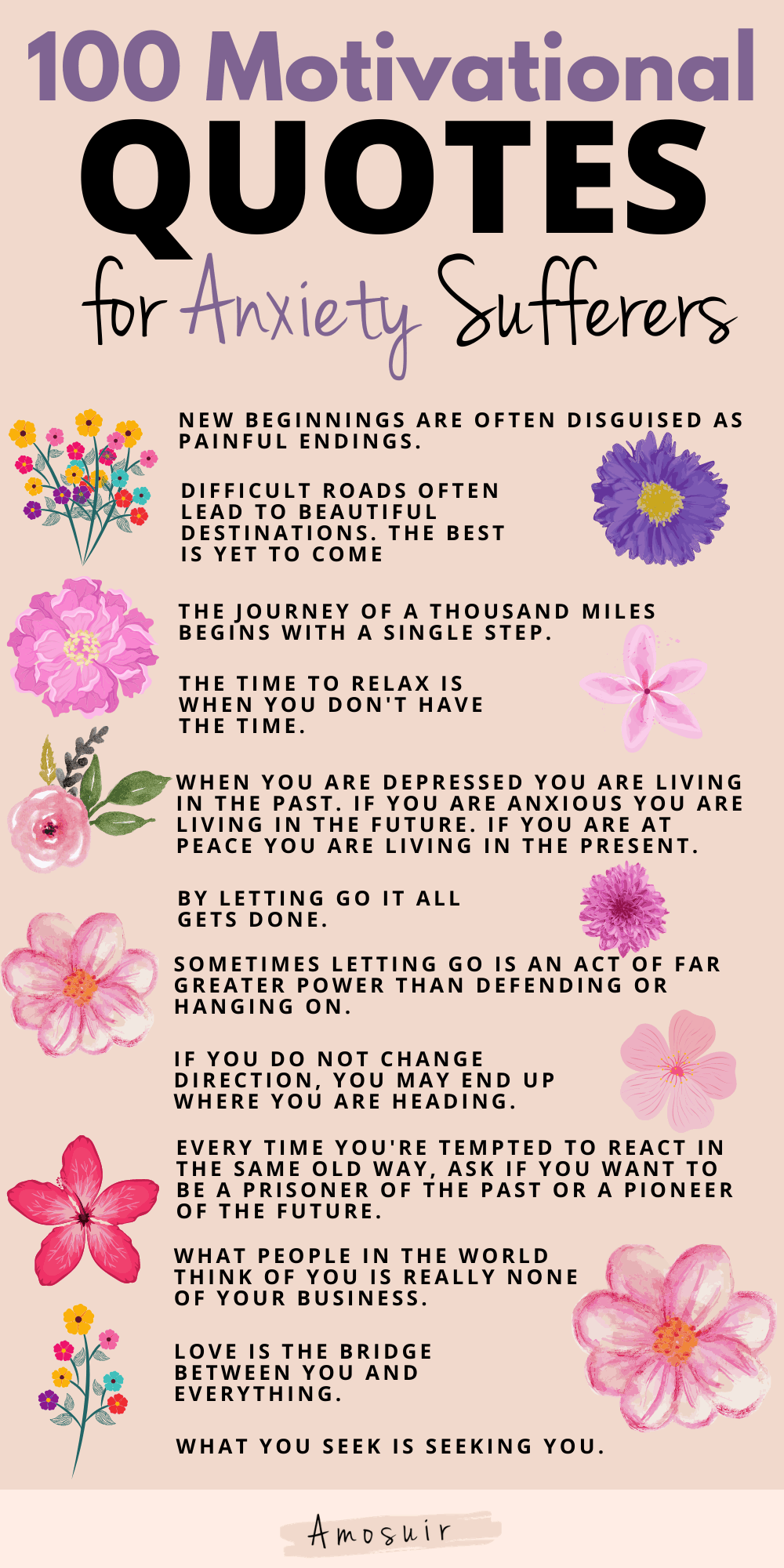 anxiety quotes infographic